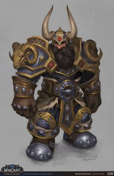 ArtStation - World of Warcraft - Dwarf Heritage Armor Concept, Matthew McKeown Dungeons And Dragons Characters, Dnd Characters, Fantasy Characters, World Of Warcraft News, World Of Warcraft Characters, Fantasy Dwarf, Fantasy Armor, Final Fantasy, Fantasy Character Design