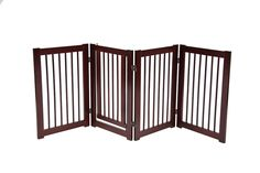 Primetime Petz 360 Configurable Gate with Door 30 in. - Walnut *** You can get more details here : All pet supplies