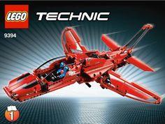 Lego Technic – 9394 – Jeu de Construction – L'Avion Supersonique | Your #1 Source for Toys and Games