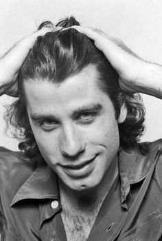 John Travolta / Black & White