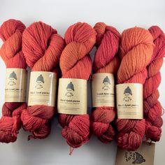 LOLA brush-dyed wool skein