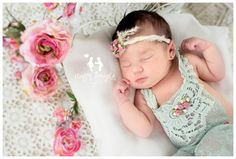 6d64b4c9b Vintage Inspired Newborn Baby Girl Photography. Happy Thoughts Studio