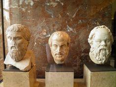 Philosophers - Platão, Aristóteles e Sócrates
