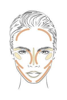 The Cara Delevingne contouring tutorial. Click through for the full step by step created by YSL makeup masters.