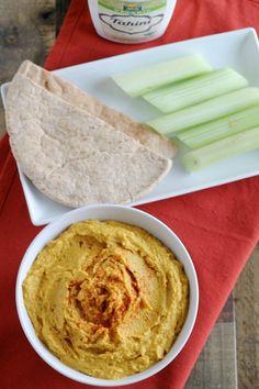 Pumpkin Hummus Recipe - Little Chef Big Appetite