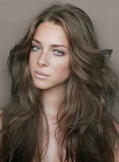 medium ash brown natural hair color for cool skin tones dark ash you should not use on hair previously dyed darker than level 4 dark brown - Coloration Chocolat Caramel