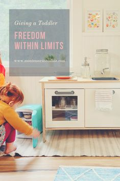 Freedom within Limits — Montessori in Real Life Montessori Bedroom, Montessori Classroom, Montessori Toddler, Maria Montessori, Montessori Activities, Infant Activities, Leadership Coaching, Preschool At Home, Positive Discipline