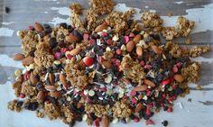 Brown Sugar Baked Granola and Trail Mix