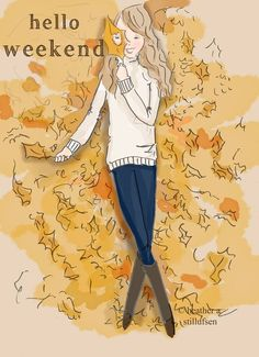Hello Weekend, Happy Weekend, Collage, Rose Hill Designs, Fall Back, Girly Quotes, Autumn Art, Autumn Cozy, Hello Autumn
