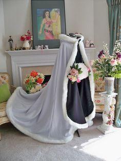Beauty & The Beast Belle Wedding Cape || CapeandCrown13 //200.00