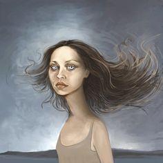 Fiona Apple Stands in the Wind - fiona-apple Fan Art