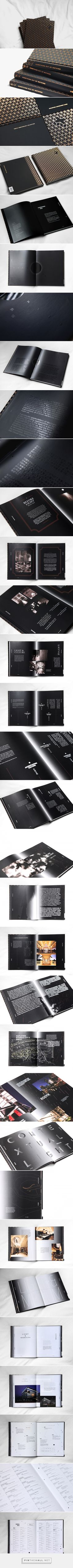 Something Out of Nothing | Editorial Design on Behance - created via http://pinthemall.net