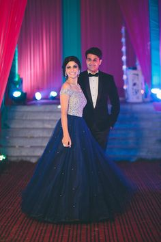Sexy Navy Blue A-line,Beading Prom Dresses,Ball Gowns indian wedding gowns - Wedding Gown Indian Wedding Gowns, Indian Gowns Dresses, Ball Dresses, Ball Gowns, Wedding Reception Gowns, Marriage Reception Dress, Marriage Dress For Bride, Bride Indian, Reception Party