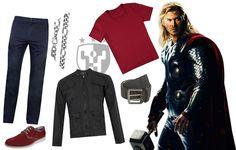 Inspiração The Avengers - Look Thor