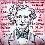 A portrait by Paul Helm of the French composer Hector Berlioz The background lists some of his best known works. Hector Berlioz, Classical Music Composers, Crazy Man, French History, Music Images, In A Nutshell, Music Classroom, Concert Hall, Conductors