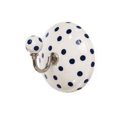 Gancho em cerâmica Flecks – Casaquetem Artigos de Decoração Ltda