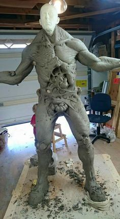 Body Cast and Sculpt for another Douglas Tait monster roll.