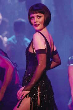 "Thelma (Catherine Zeta-Jones) in ""Chicago"". KZJ performed this number-""All that Jazz""-in the movie, and for the 2013 Oscars.  She did a fantastic job both times!"