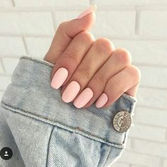 Creative # peach and # gray hair ombre hair # hair color # hair color trends - Nails ♡ - Nageldesign Matte Nails, My Nails, Nails 2017, Nails Today, Oval Nails, Peach Nails, Pastel Pink Nails, Baby Pink Nails, Peach Colored Nails