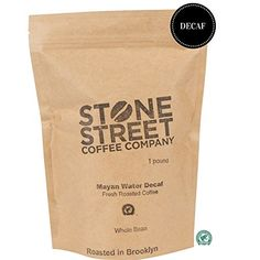 MAYAN DECAF Swiss Water Process Whole Bean Coffee | 1 LB Bag | RFA Certified 100% Chemical Free Decaffeination Process | Central American Origin | Low Acidity | Medium Roast *** Read more reviews of the product by visiting the link on the image.