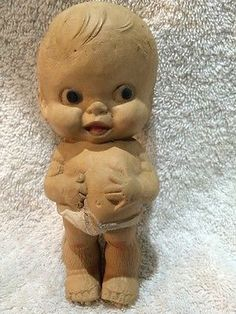 Antique-Sweet-Little-Doll-by-Ruth-E-Newton-for-Sun-Rubber