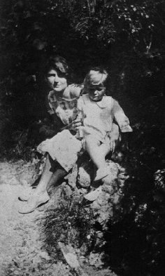 Zelda Fitzgerald: Zelda and Scottie Fitzgerald vacationing on the French Riviera - May 1924