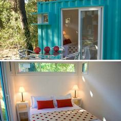 ALTERRA GLAMPING SHIPPING CONTAINER HOME