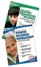 Corkboard Connections: A Book Review - or Two! Thanks to Erin Klein for writing an outstanding review of Power Reading Workshop and Graphic Organizers for Reading! ($)