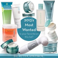 Top 10 products of 2013 – is your favorite on this list? #BeautiControl #Top10of2013 #Beauty