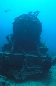 Abandoned Train Wreck | Abandoned Train under water Abandoned Train, Abandoned Mansions, Abandoned Buildings, Abandoned Houses, Abandoned Places, Underwater Ruins, Underwater World, Train Car, Train Tracks
