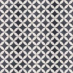 Cement Tile Shop - Handmade Terrazzo Cement Tile | Circulos Black