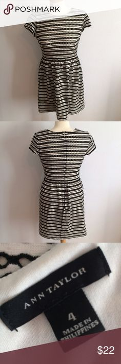 BOGO50 Today Ann Taylor Day at the Park Dress Cute and casual! Small flaw, stitched. Ann Taylor Dresses