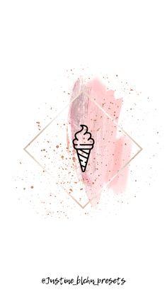 Logo Instagram, Instagram Design, Instagram Story, Pretty Wallpapers Tumblr, History Instagram, Tumblr History, Flower Graphic Design, Instagram Background, Pink Highlights