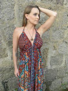 Vestido Deusa Longo 12