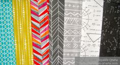 Sunday Stash #11 – Independent designers at Spoonflower (featuring two of my math fabrics!)