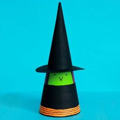 Cardboard Cone Witch | Spoonful