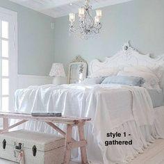 Linen Bedskirt Linen Bedding Linen Bed skirt Linen Dust