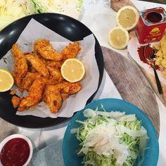 John Torode's corn chip chicken and quick slaw