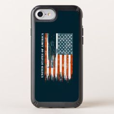 USA Flag Liberty America Distressed Art Speck iPhone Case - watercolor gifts style unique ideas diy