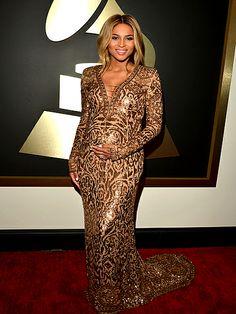 Celebrities Gear Up For Grammy Awds 2014