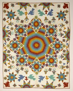 Lonestar Medallion Quilt: Color, Pattern, Whimsy, Scale: The Best of Shelburne Museum