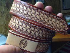 Belt, Basket Weave, Light antique, Favorite