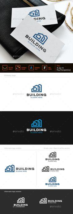 Building logo template - Buildings Logo Templates