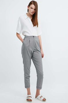 Urban Outfitters Workwear Pattern Trousers