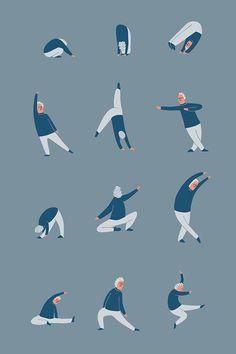 Modern dance pattern