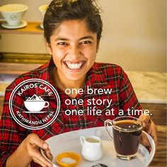 Via @five14nepal - Your cup of coffee at Kairos Cafe Katmandu Nepal.  #ethicalbusiness #ethicaltourism #coffee #onebrew #onestory #onelife #nepal #VisitNepal #instacoffee #followusformore