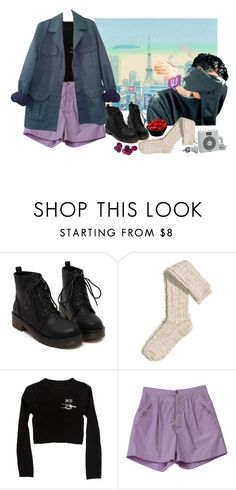 """""""my style"""" by miukuapocalypse ❤ liked on Polyvore featuring H&M, Care Label, HUGO, women's clothing, women's fashion, women, female, woman, misses and juniors"""