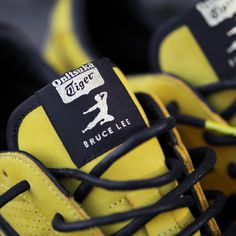 BAIT x Bruce Lee x Onitsuka Tiger Men Colorado Eighty Five - Legend (yellow) Tiger Shoes, Lifting Shoes, Popular Sneakers, Punk Outfits, Onitsuka Tiger, Mens Fashion Suits, Bruce Lee, Retro, Bait