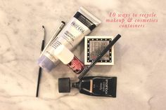 how to recycle makeup and cosmetics containers // Green Revival Recycling Guides