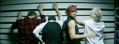 Naughty naughty boys! Especially Ashton! Just look at that smirk! And the refusal to turn around! ...I love you all.